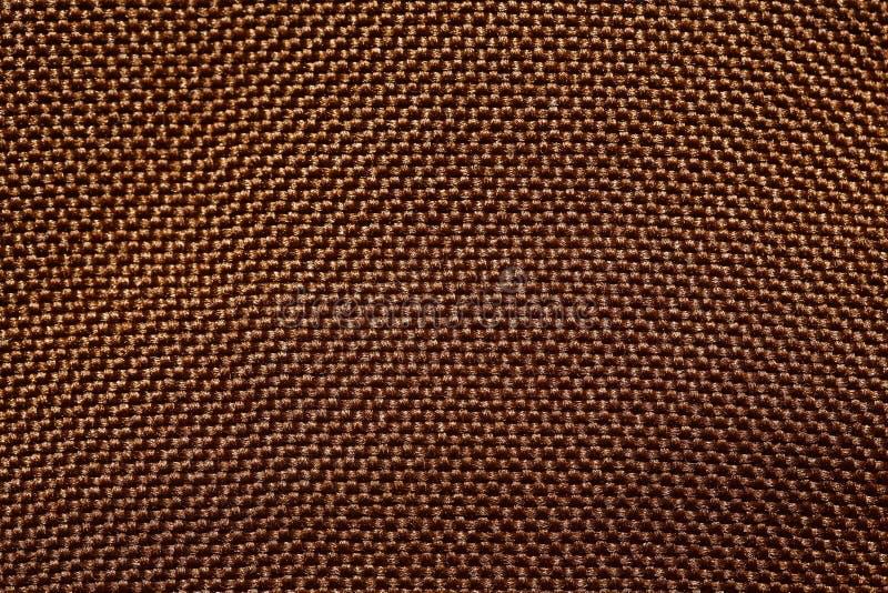 Уточненный тон предпосылки ткани внутри глубоко - коричневый стоковая фотография rf
