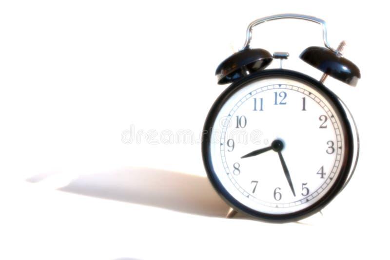 Утро будильника легкое стоковая фотография