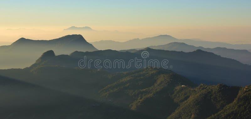 Утро в Непале стоковое фото