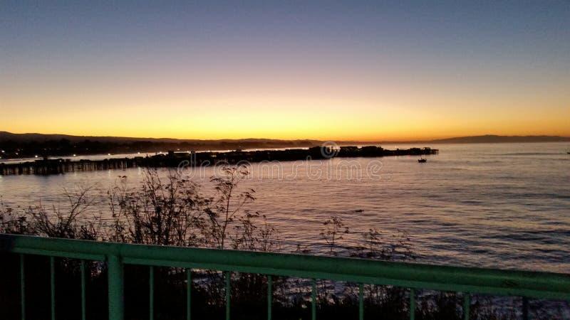 Утро в Santa Cruz стоковые изображения rf