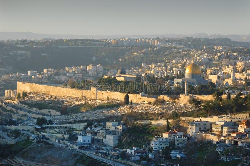 утро Иерусалима стоковое изображение rf