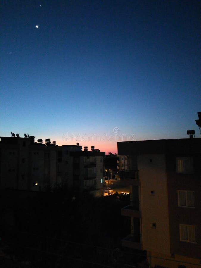 Утро или после полудня стоковое фото rf