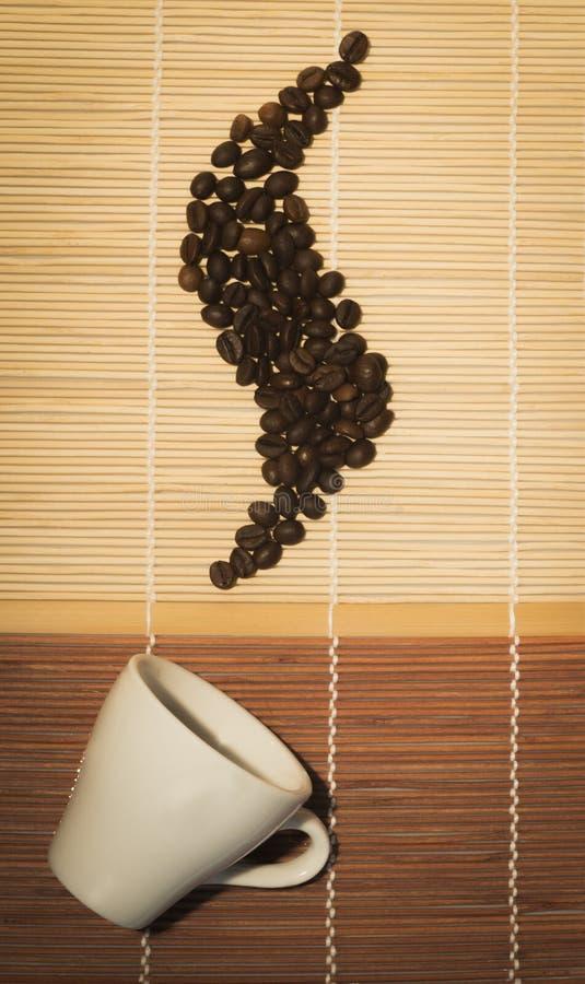 утро кофе горячее стоковая фотография rf