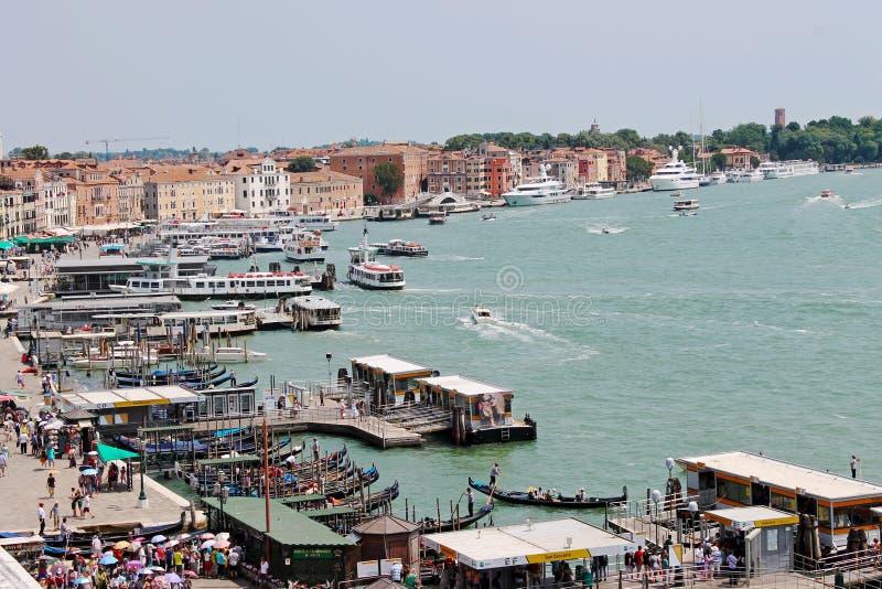 Утро лета в Венеции стоковые фото