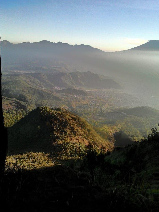 Утро на Mt Panderman стоковые изображения rf