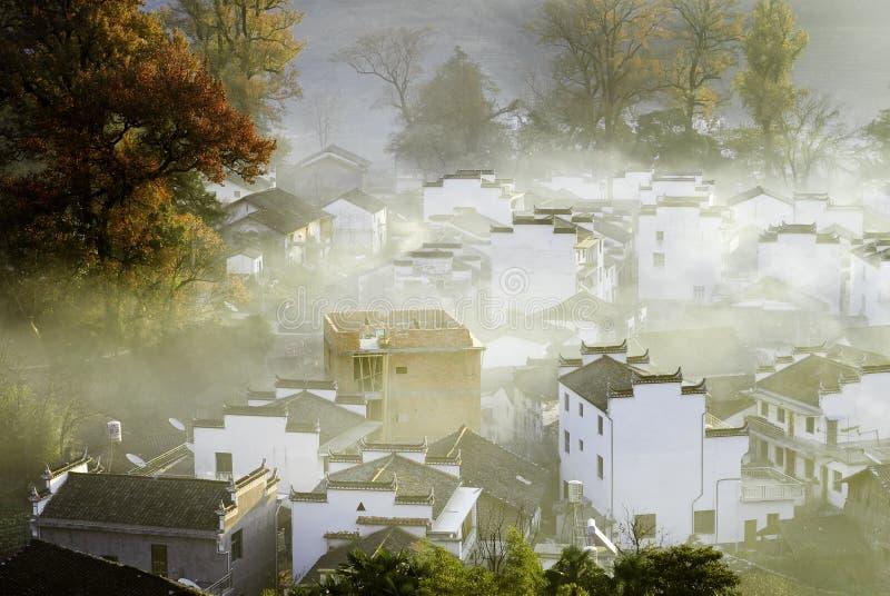 Утро сельской местности стоковые изображения rf