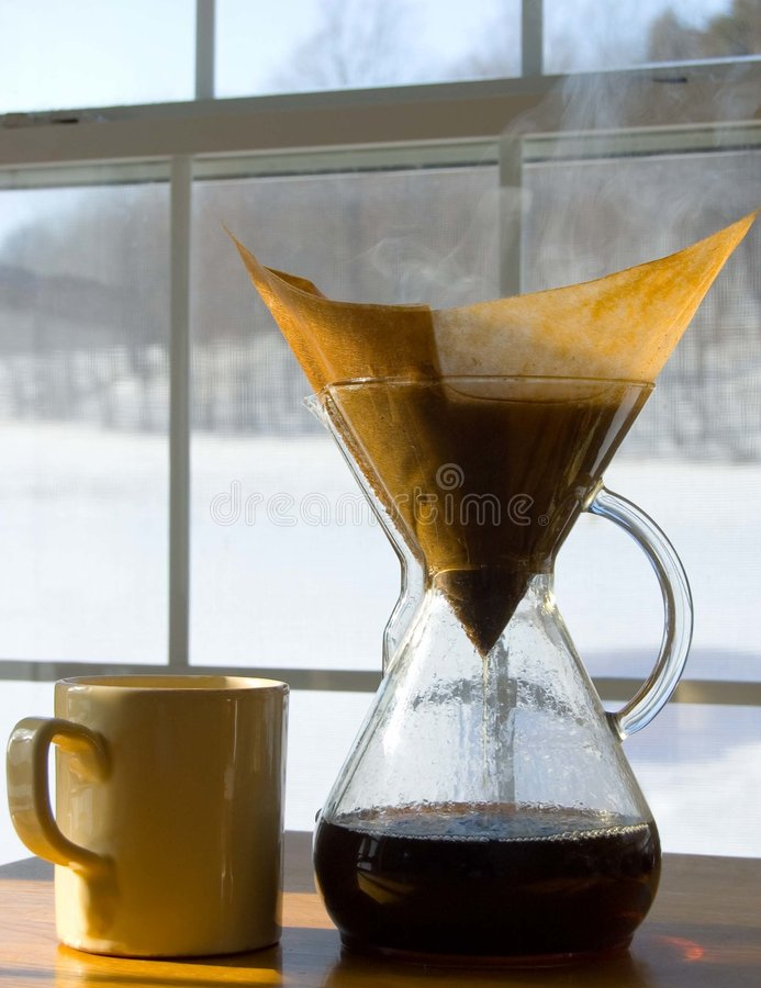 утро холода кофе стоковое фото