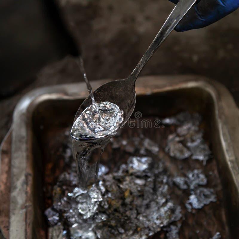 Утюг и сталелитейная промышленность стоковое изображение rf