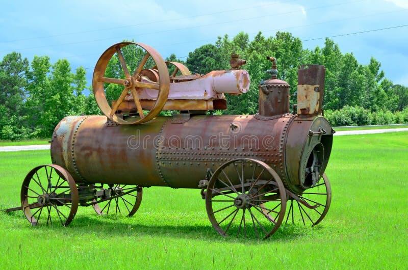 Утюг парового двигателя Ames работает A.B. Farquhar стоковые фото