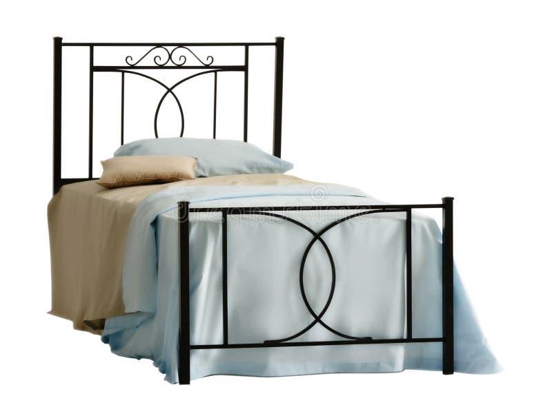 утюг headboard кровати стоковая фотография