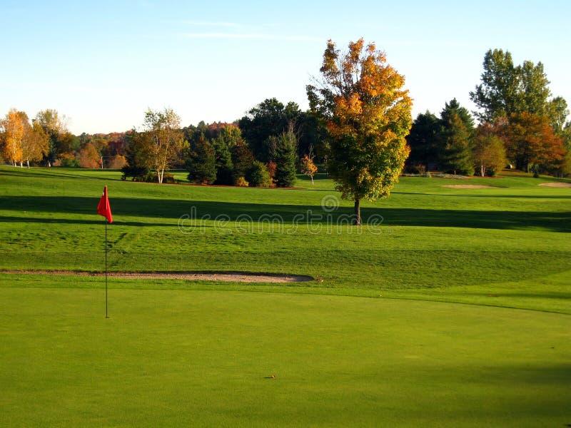 ухаживайте гольф стоковая фотография