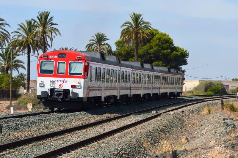 Уходя поезд стоковые фото