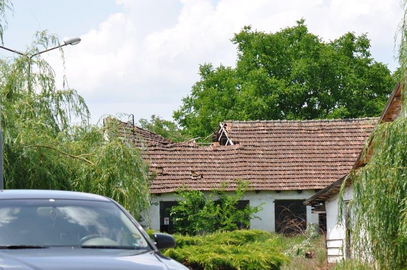 Ухудшенная крыша стоковое фото