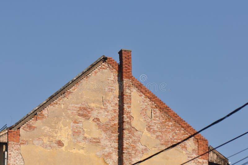 Ухудшенный старый дом стоковое фото rf