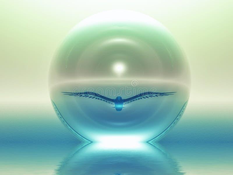 дух иллюстрация вектора