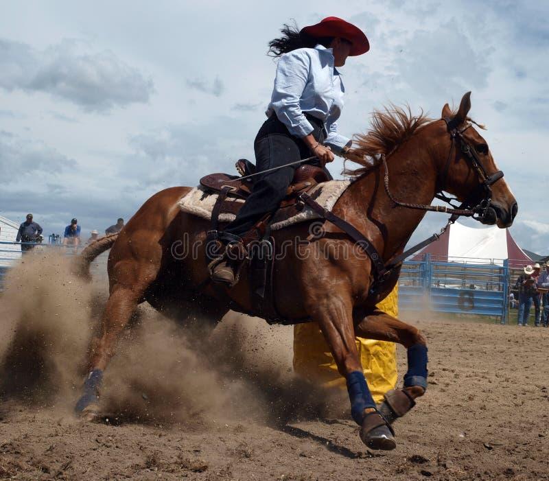 Download участвовать в гонке бочонка Стоковое Фото - изображение насчитывающей лошадь, конкурсно: 6859030