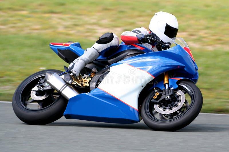 участвовать в гонке мотоцикла стоковая фотография rf