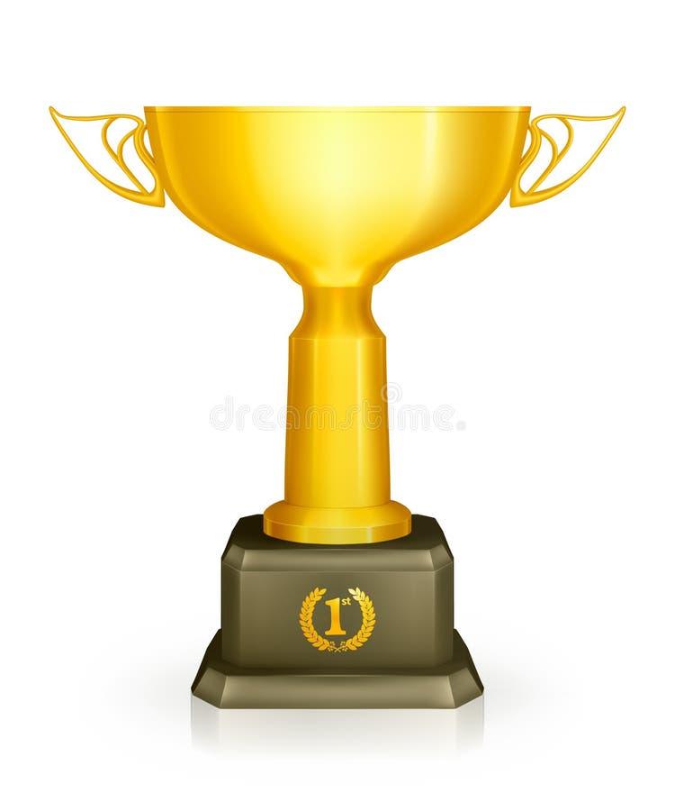 участвовать в гонке трофей иллюстрация штока