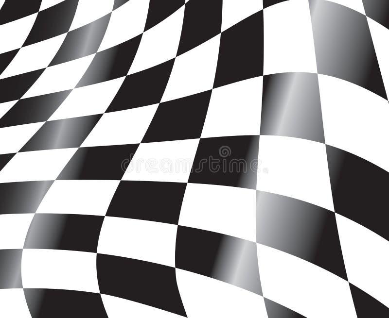 участвовать в гонке флага