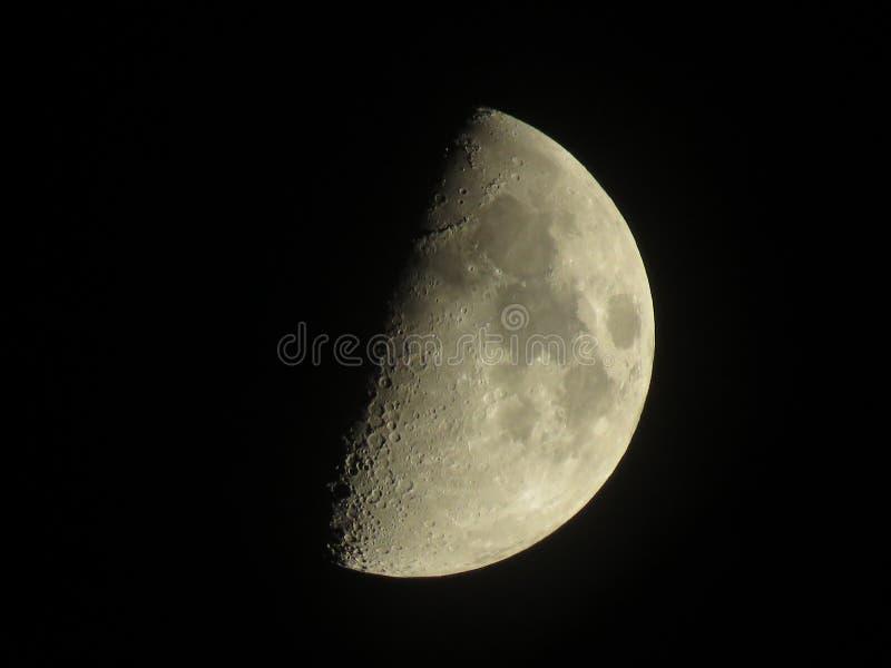 Участки луны стоковое изображение