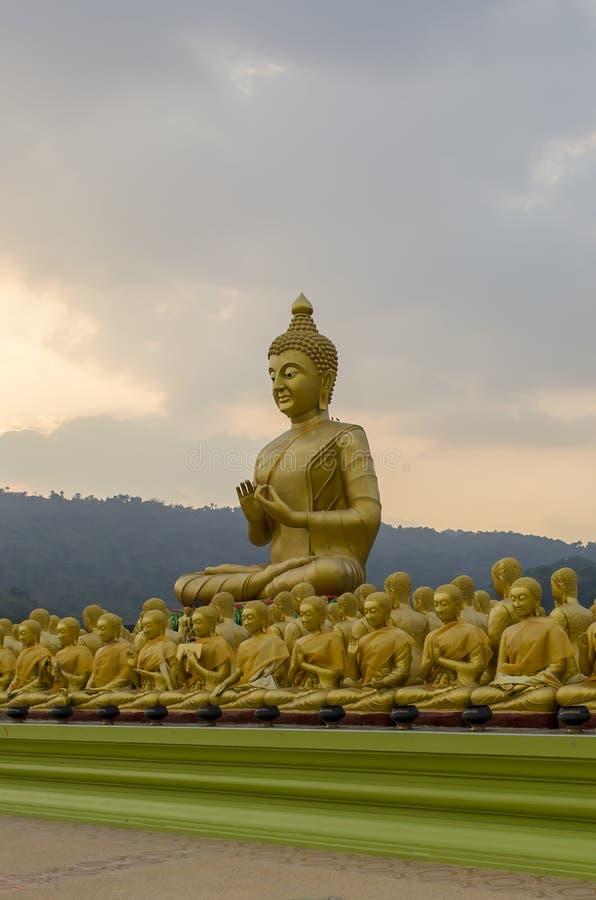 ученики Будды стоковые фотографии rf