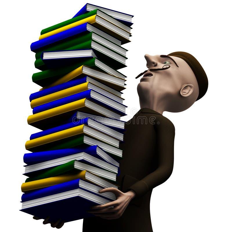 учитель пакета истории carryng книг
