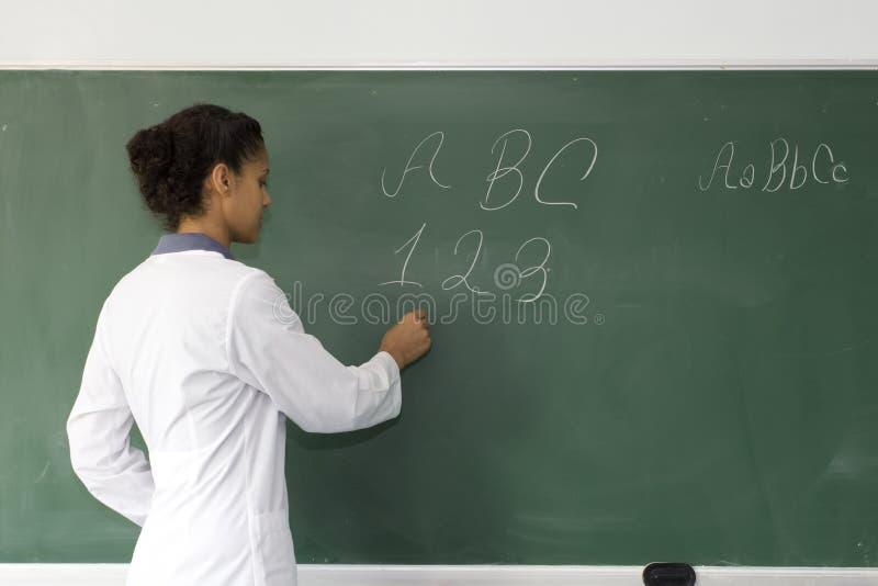учитель стоковое изображение