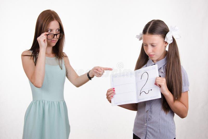 картинка как учитель ругает ученика что