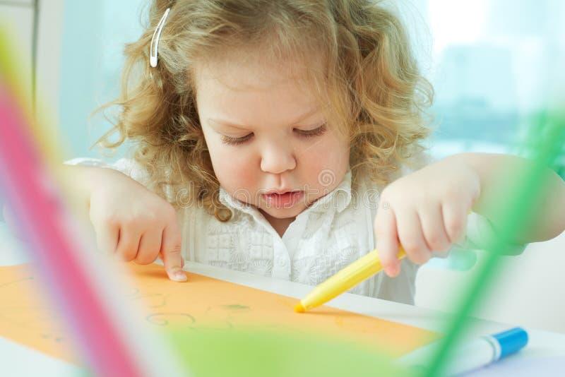 Учить нарисовать стоковые фото