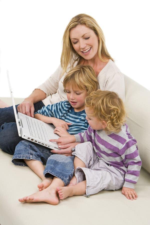 учить семьи стоковые фото