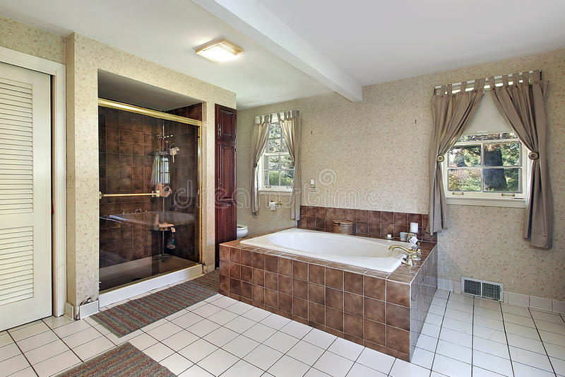 ушат ванны мраморный мастерский стоковые фото
