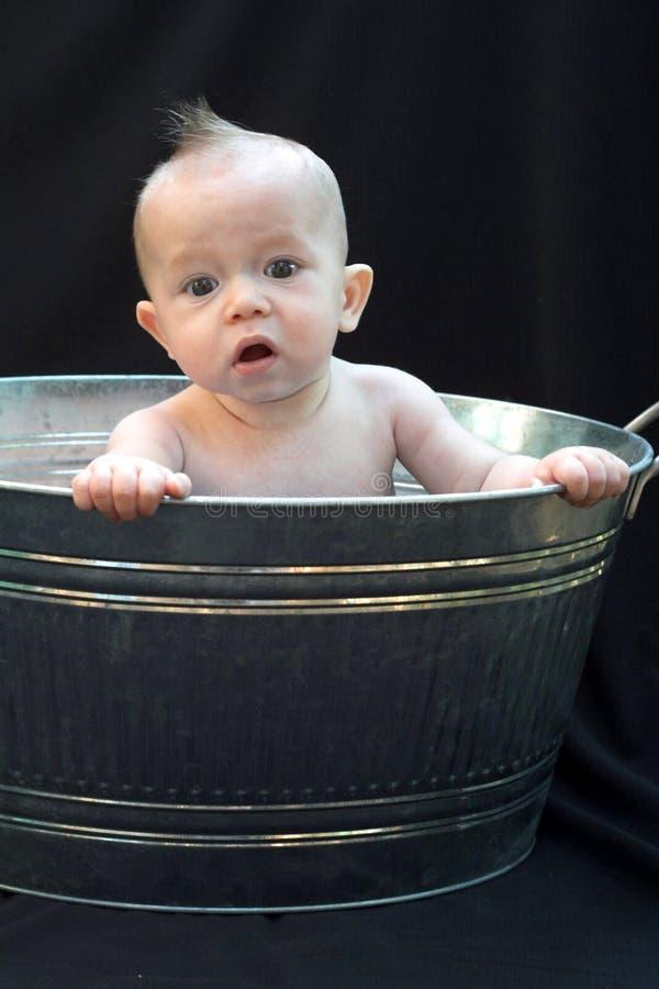 ушат младенца стоковое изображение