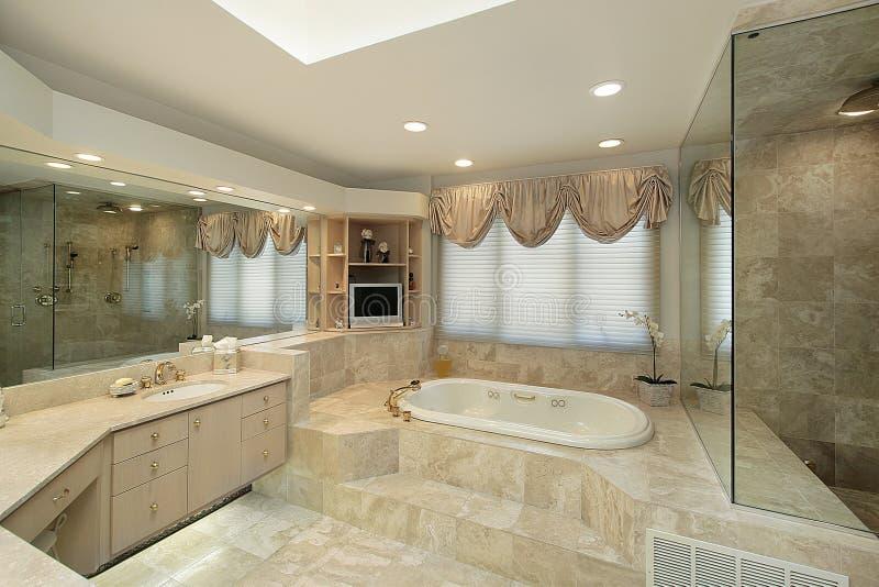 ушат шага ванны мастерский вверх стоковые изображения