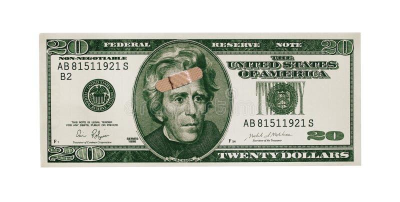 ушибать доллара стоковые изображения