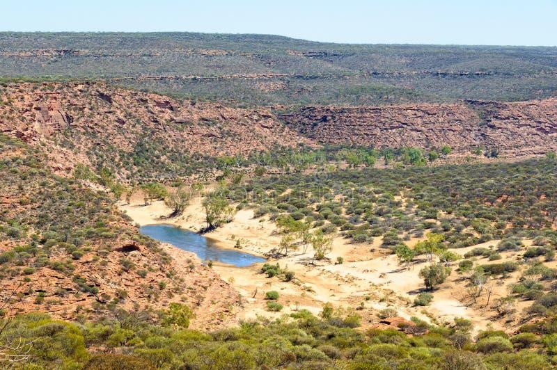 Ущелье Murchison - Kalbarri стоковые изображения rf