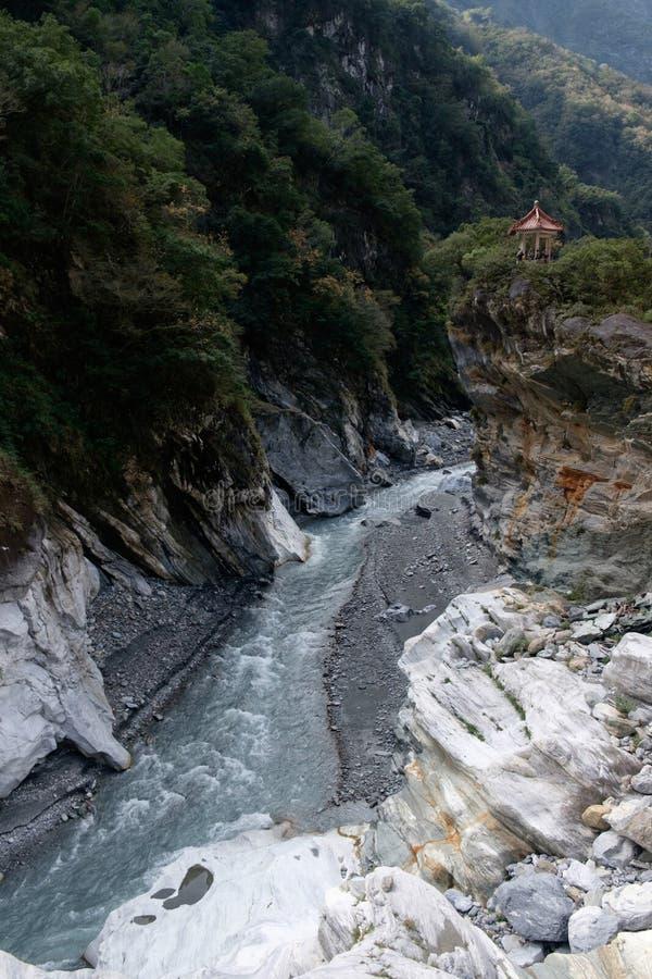Ущелье Taroko в Hualien, Тайване стоковая фотография rf