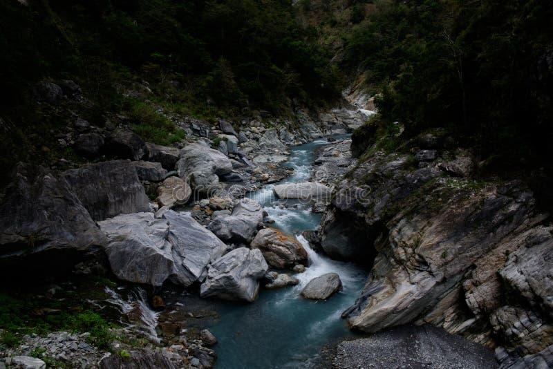 Ущелье Taroko в Hualien, Тайване стоковые изображения rf