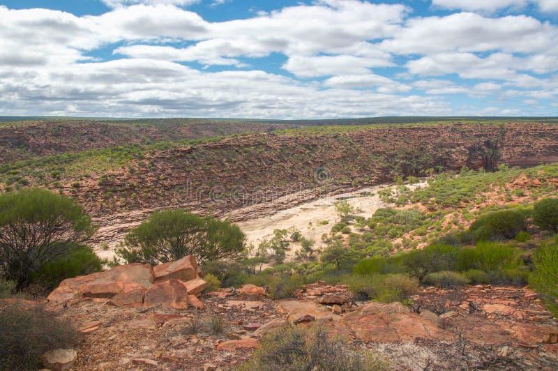 Ущелье реки Murchison стоковые изображения rf