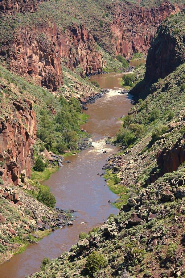Ущелье 2 Рио Гранде стоковое изображение