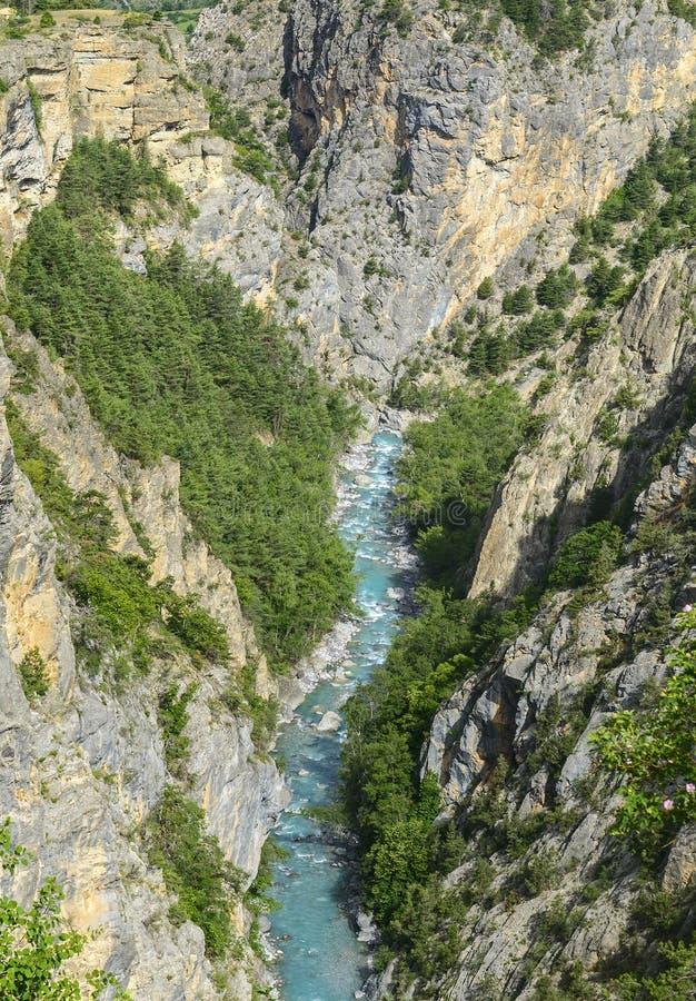 Ущелье De Guil Стоковое Фото