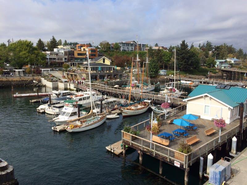 Уютная гавань стоковая фотография rf