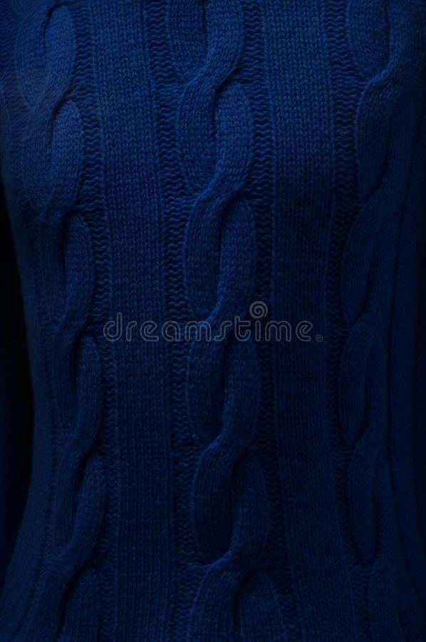Уютное tecsture sweter стоковая фотография rf