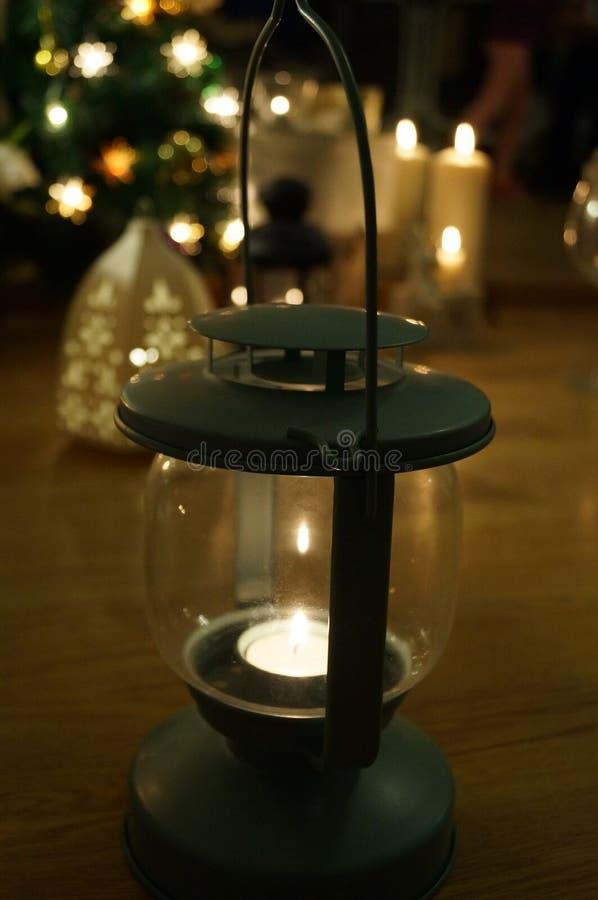 Уютный электрофонарь стоковая фотография rf