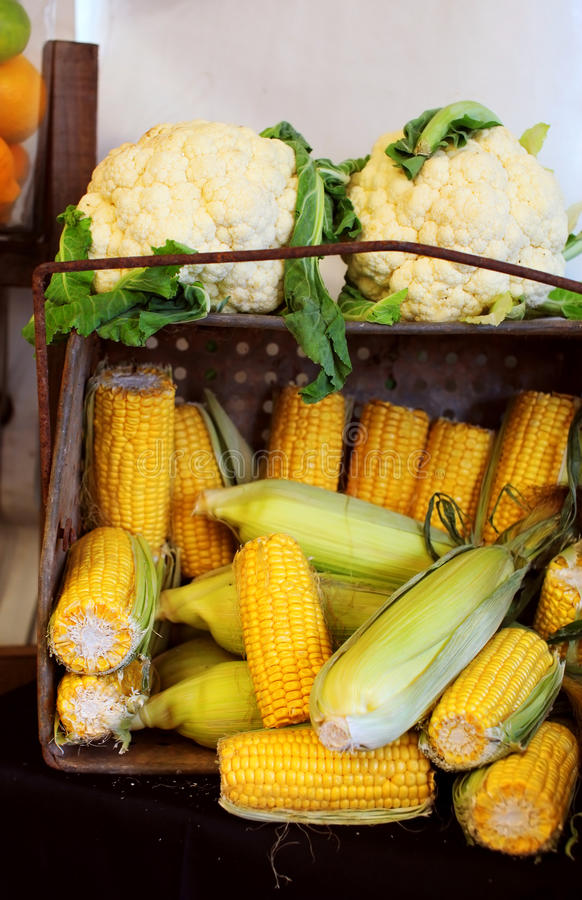 Download Удар мозоли и цветная капуста Стоковое Фото - изображение насчитывающей cornflakes, зерно: 41658502