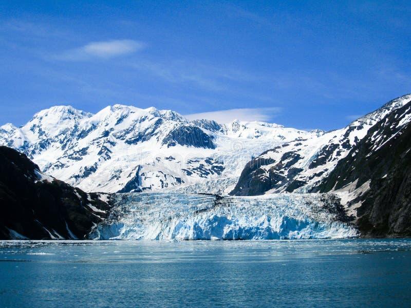 Удивите ледник на фьорде Harriman в Prince William Sound, увы стоковая фотография rf