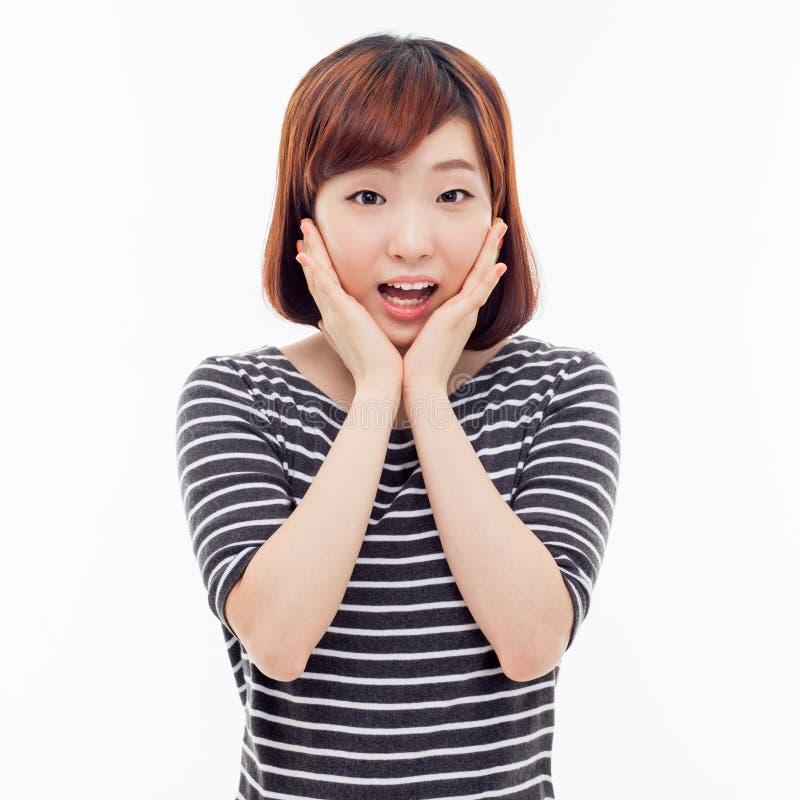 Удивительно молодая азиатская девушка стоковые изображения