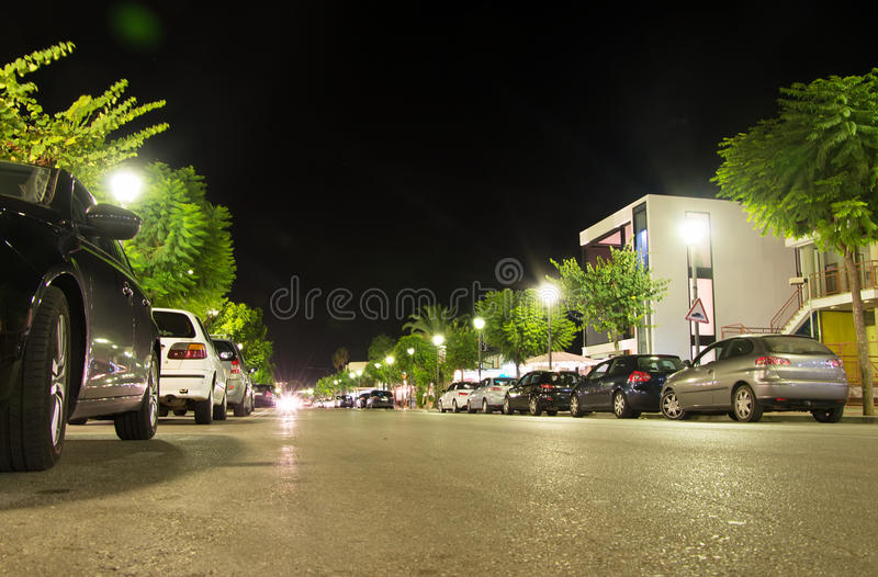 улица автомобилей припаркованная paris стоковая фотография