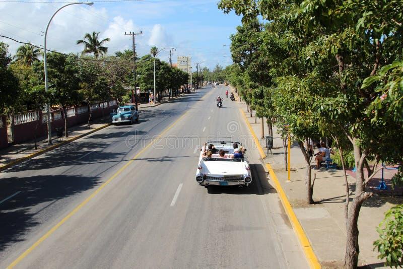 Улица Варадеро стоковое изображение