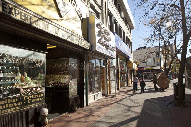 Улица в Джерси стоковые фото