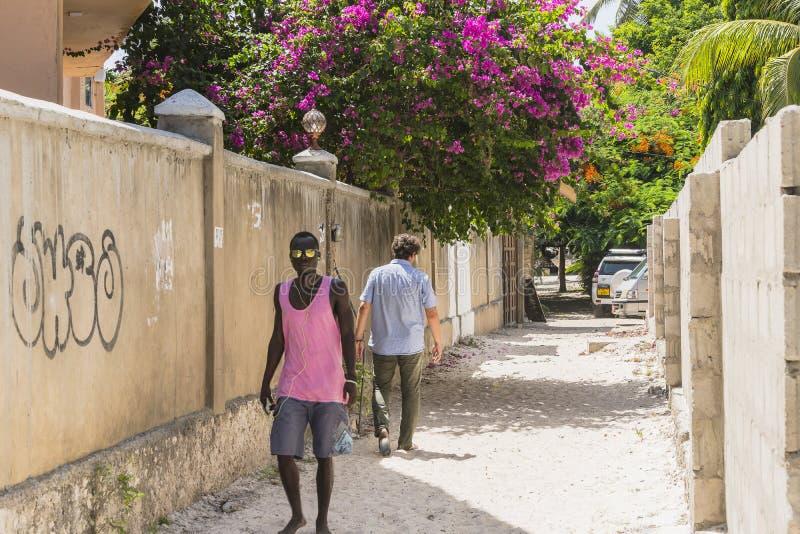 Улица в деревне стоковое фото rf